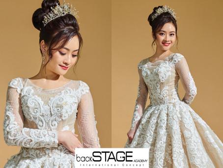 新娘篇。高贵新娘造型
