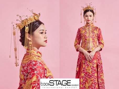 新娘篇。中式新娘