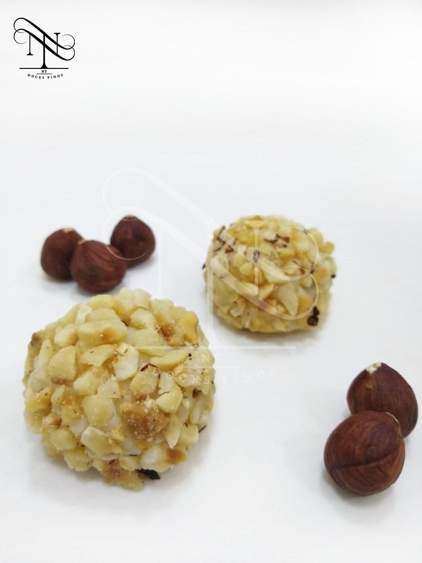 Brigadeiro de avelã e nutella