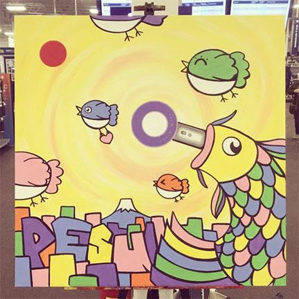 DYSON x PESU ART #2