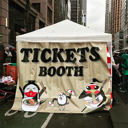 TICKETS BOOTH