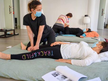 Cours de massage thaï chez T-Med session 8 août 2021 vidéo