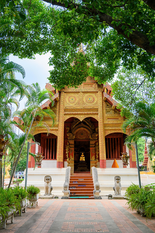 Wat Phra Sing, temple, buddhist, buddha, statue, Chiang Mai 2019