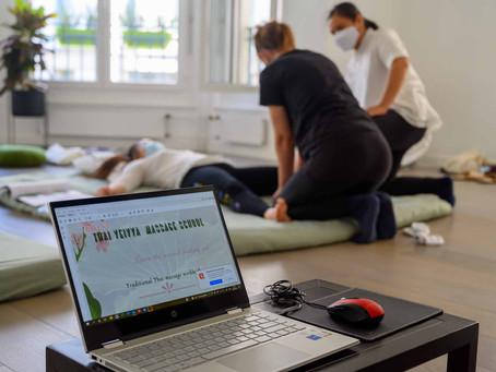 Cours de massage thaï chez T-Med session 8 août 2021 photographies