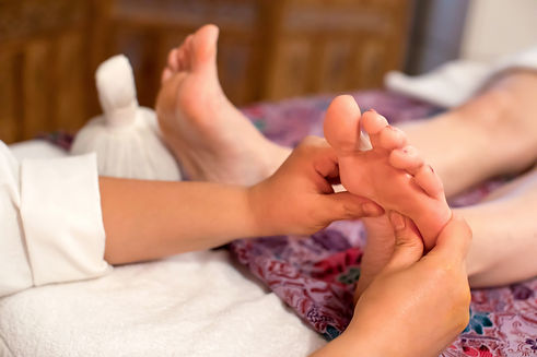 Thai massage foot reflexology thaïlandais réflexologie plantaire pieds