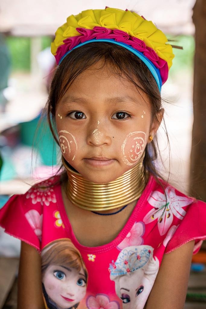 Thailand Chiang Mai portrait girl younggirl kayan karen hilltribe longneck