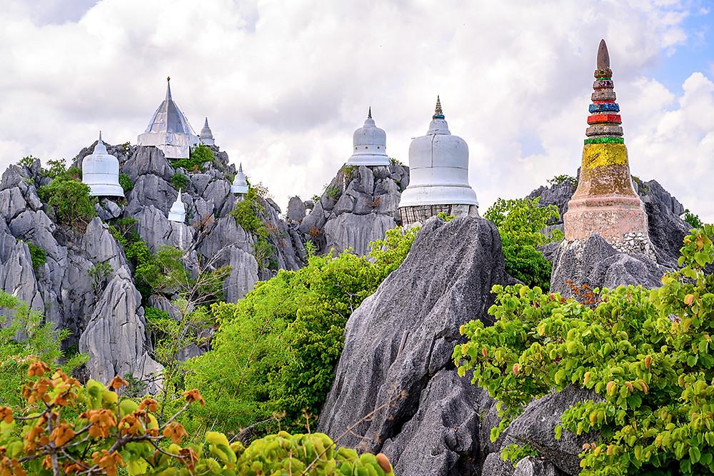Thailand Thaïlande Lampang Wat Chalermprakiat temple