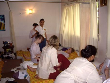 Mon travail d'enseignante chez Best Massage à Chiang Mai en 2009