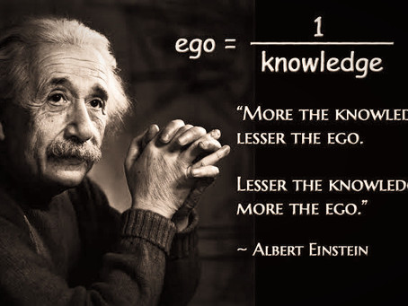 Free from old habit called Ego