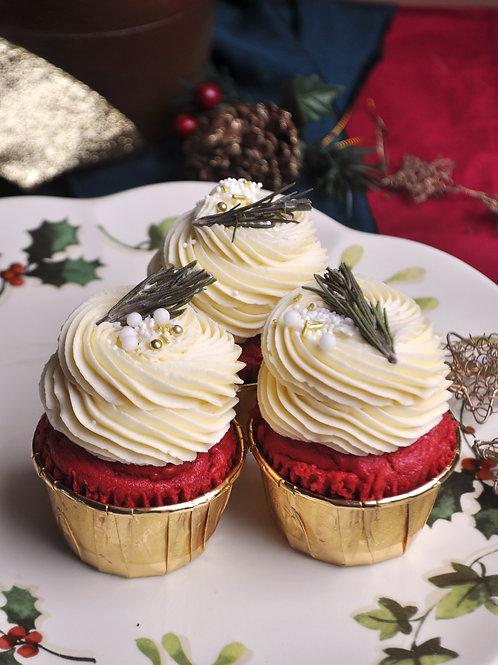 VELVET CHRISTMAS CUPCAKES