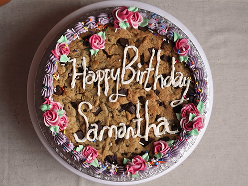 GIANT CELEBRATION COOKIE