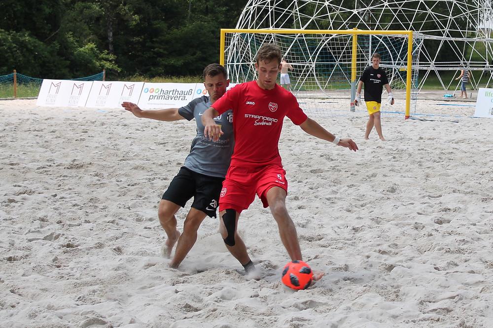 Tim Vetter erzielte im Spiel gegen die Rostocker Robben einen Doppelpack.