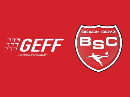 GEFF Sport wird neuer Ausrüster der Beach Boyz