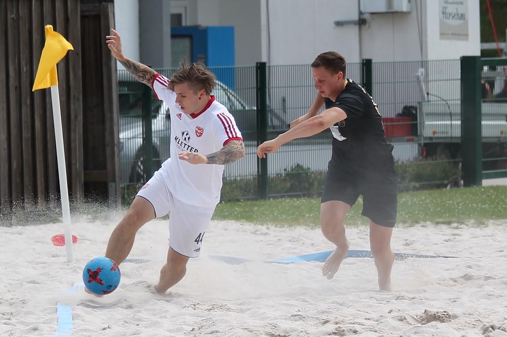 Thomas Haindl fehlt den Beach Boyz beim 1. Spieltag aufgrund einer Knieverletzung. Foto: BSC Beach Boyz