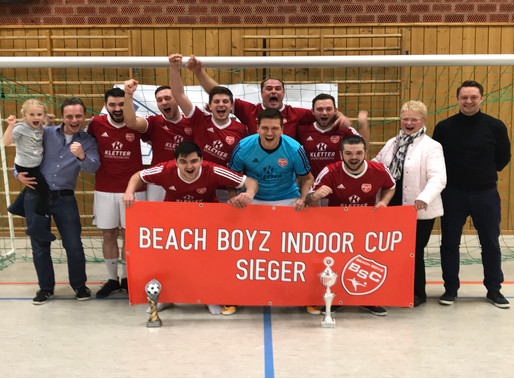 Beach Boyz gewinnen Indoor-Cup