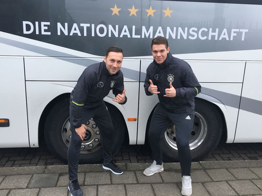 BSC-Duo beim DFB-Workshop in Holland