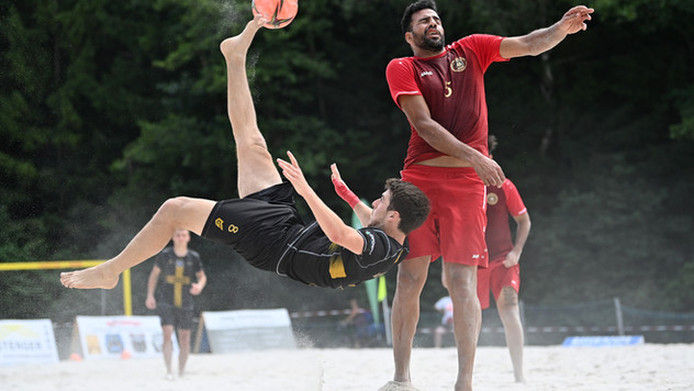 Beach Boyz beenden Bundesliga unter den Top-7