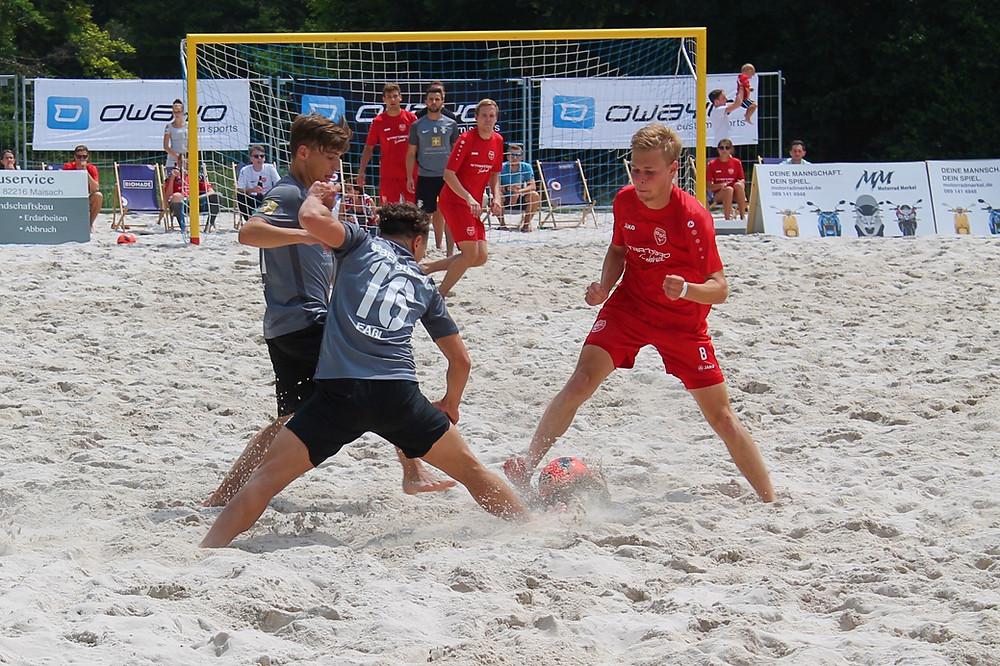 Lukas Mösmang kehr in den Kader der Beach Boyz zurück.