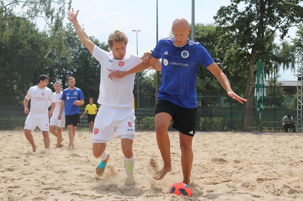Thilo Mösmang sorgte für Stabilität in der Abwehr der Beach Boyz.