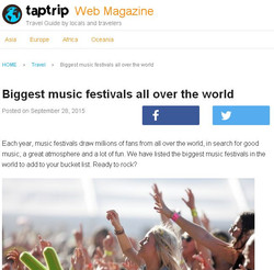 Article for Tap trip