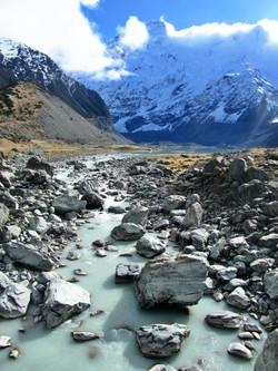 Mt. Cook/Aoraki National Park, New Zealand