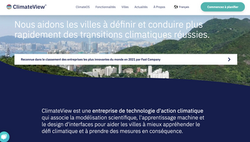 Translation English-French for ClimateView