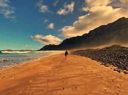 Famara, Lanzarote, Canary islands