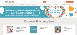 Web content for Smartbox