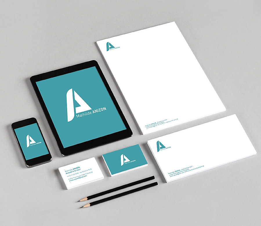 logotype avocate mathilde anizon