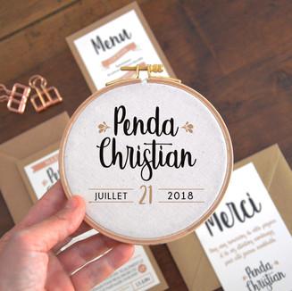 Penda et Christian