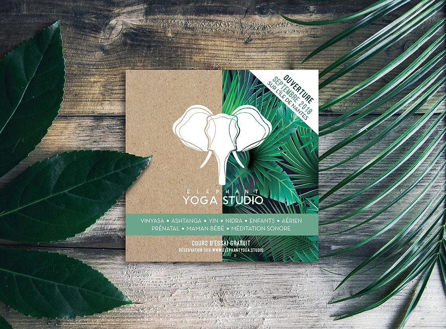 flyer elephant yoga studio