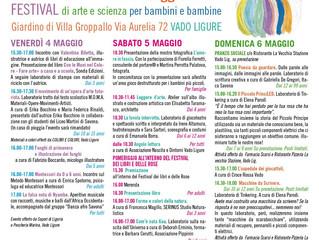 MODIDì Festival di arte e scienza per bambini a VADO LIGURE