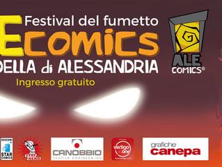 FESTIVAL DEL FUMETTO ALEcomics 8/9 ottobre 2016 Cittadella di Alessandria