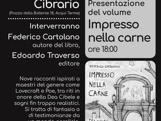 Presentazione del libro IMPRESSO NELLA CARNE e POETRY SLAM
