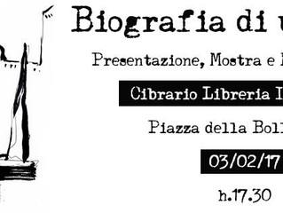"""Presentazione, Mostra e Reading di """"Biografia di un'Ombra"""" VENERDì 3 FEBBRAIO"""