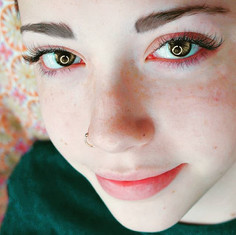 Eyelash extensions on a 9th grader_ Sure