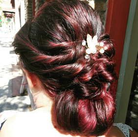 Twisted up Chignon