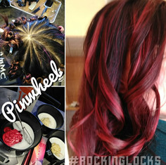 Pinwheel Color Application