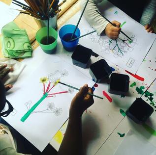 DO/DRAW botanisch schilderen met kinderen en volwassenen