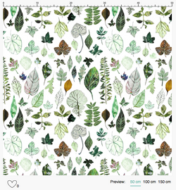 Backyard Herbarium Pattern