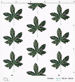 Alcea Rosea Pattern