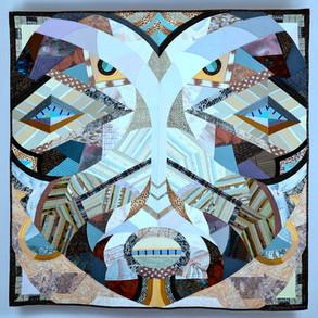 """ZAIRE Songe Mask 4, 72""""x72"""""""