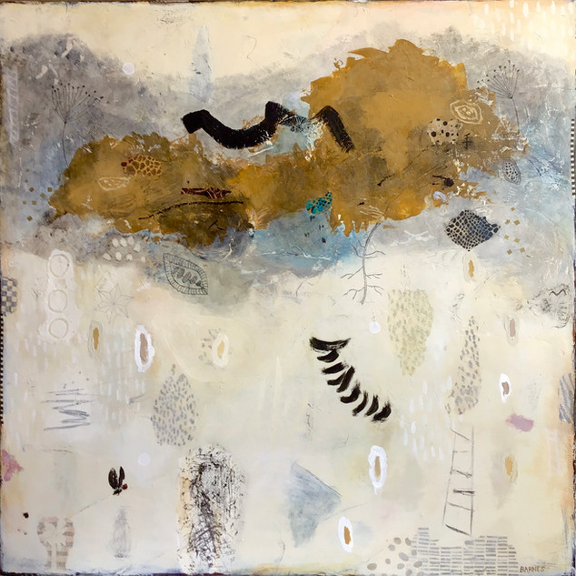 SAND CLOUD OVER THE KALAHARI - SOLD