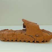 Dirt Yeezy Slide