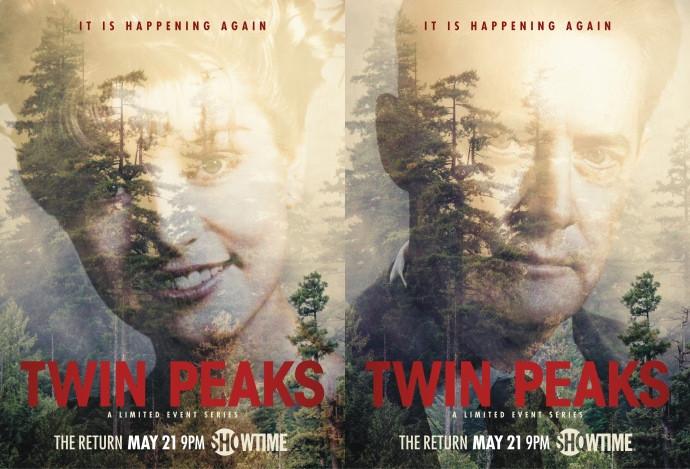 Twin Peaks Season 3 teaser posters