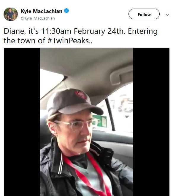 Kyle MacLachlan celebrates Twin Peaks Day 2018