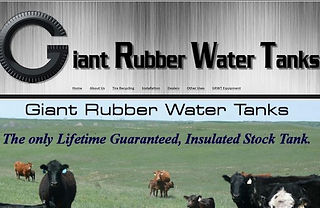 Giant Rubber Water Tire Tanks