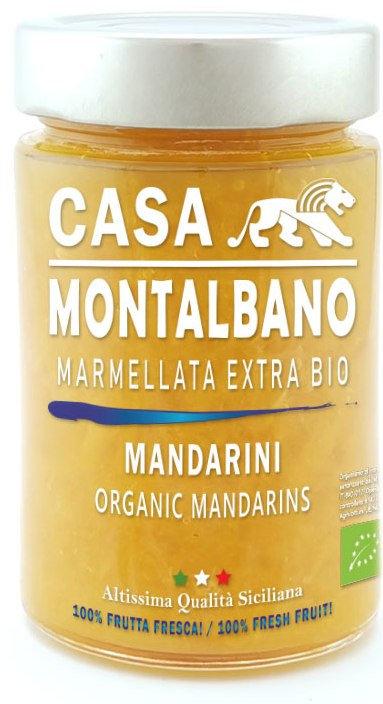 Marmellata Extra di Mandarini BIO – 200g - Casa Montalbano