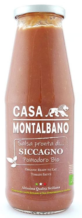 Salsa Pronta di Pomodoro Siccagno BIO – 700g - Casa Montalbano