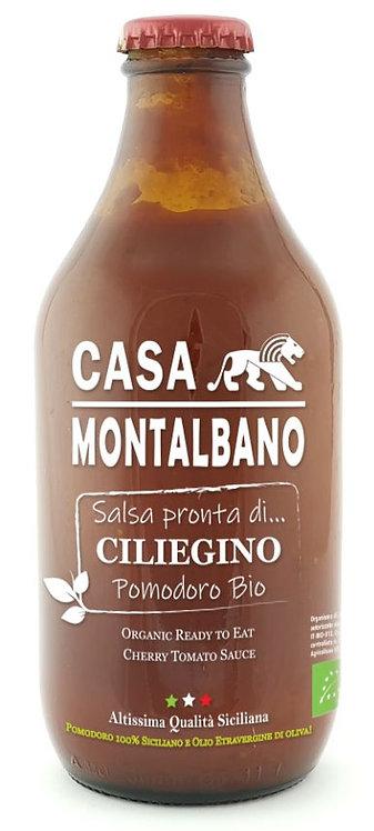 Salsa Pronta di Pomodoro Datterino BIO – 330g - Casa Montalbano